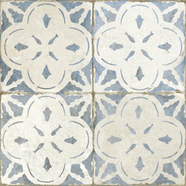 Aurora Blue Glazed Ceramic 45cm x 45cm
