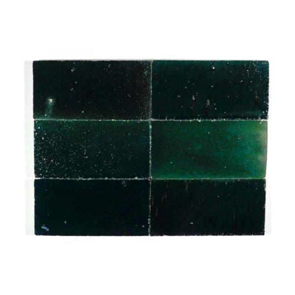 Zellige Dark Turquoise 06 15cm x 7.5cm